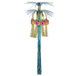Hibiscus Cascade Hanging Column Party Accessory (1 count) (1/Pkg) - 1