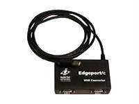 DIGI INTERNATIONAL Edgeport/2c USB To 2 Port EIA/232 Serial Adapter DIGI Wired PC