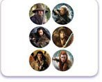 Hobbit 2 Edible Cupcake Toppers-12 Count