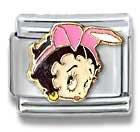 Betty Boop Bunny Italian Charm