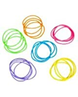 "Assorted Neon Jelly Bracelets - 2.75"" - New"