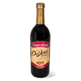Da Vinci Chocolate Syrup, 750 ml Bottle (Plastic)