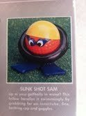 Sunk Shot Sam Golf Ball Blunders Collectible Toy By Star Case - 1