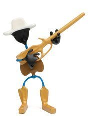 Hog Wild Toys Wild West Benders, Marshall