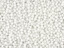 Seed Beads 12/0 Czech Opaque White (one hank pack)