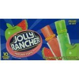 Jolly Rancher Freezer Pops 10 Ct Package (3 Pack)