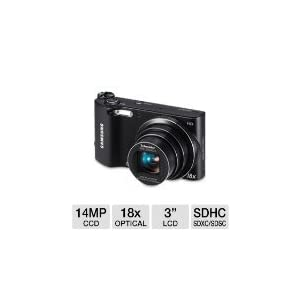 Samsung WB150F Point & Shoot Camera with 14.2MP, 18x Optical Zoom and 3 inch Screen (Black)