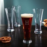 Circleware Quench 12-Ounce Pilsner Glass Set, 4-Piece