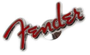 FENDER Fender Logo Red - Pin