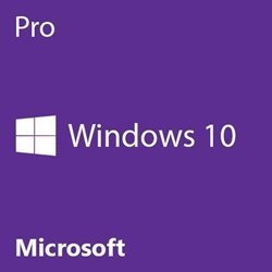 Microsoft Windows 10 Pro 64 Bit OEM - PC Disk