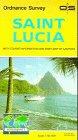 Saint Lucia (Tourist Map)
