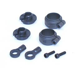 Team Losi Shock Spring Clamps & Cups