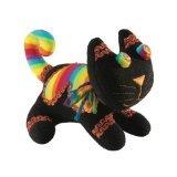 Laid Back Plush Cat, Black