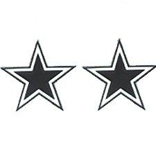 Studded Nfl Earrings - Dallas Cowboys Studded Nfl Earrings - Dallas Cowboys