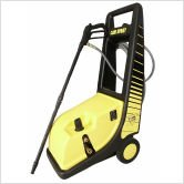 Cam Spray 1450 Psi Cold Water Electric Roto Cart Pressure Washer With Electric Cut-Out Thermal Relief