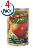 Muir Glen Organic Tomato Paste -- 6 oz Each / Pack of 4