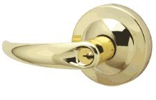 Bright Brass Finish Passage Function Sparta Lever Design Schlage commercial ND10SPA605 ND Series Grade 1 Cylindrical Lock