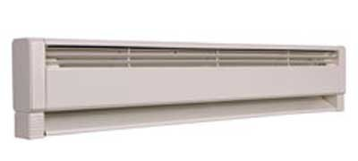 Marley Hbb758 Qmark Electric/Hydronic Baseboard Heater The Element Design Delivers All Available Heat To The Room Utilizing A Strong Convection Flow Gentle Heat Keeps Radiating Even After The Thermostat Turns Off Because Of The Element'S Heat Retention Qu