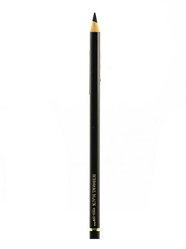 Faber-Castell Polychromos Artist Black Colored Pencils (Pack of 12)