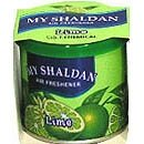 My Shaldan Solid Gel Air Freshner For Car Home Office Lime (80g)
