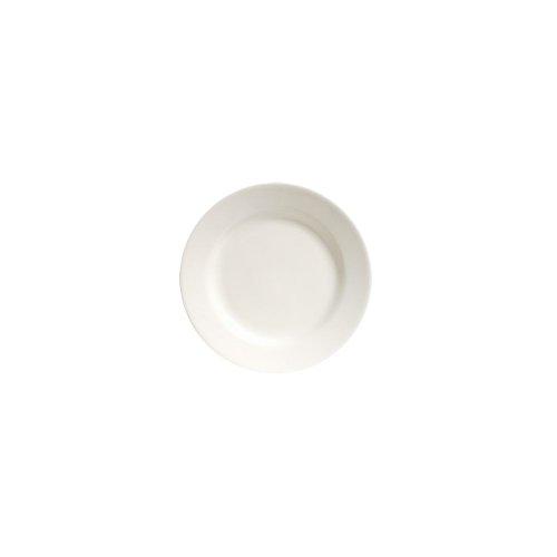 "Tuxton Tre-908 Reno 9"" Round Eggshell Plate - 24 / Cs"