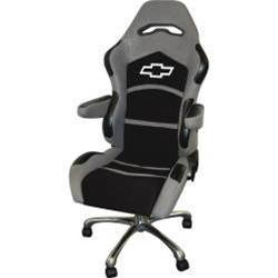 Racing Seat Office Chair Chevy Bowtie