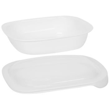 CorningWare SimplyLite / Corelle Bake, Serve, Store 3-Quart lightweight bakeware with Plastic Lid (Corelle Bake And Serve compare prices)