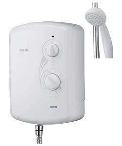 triton madrid ii white electric shower. Black Bedroom Furniture Sets. Home Design Ideas