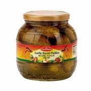 Gundelsheim, Garlic Pickles Barrel, 36 Ounce Jar
