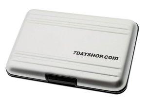 7dayshop Aluminium Memory Card Case for XD Memory Cards - AL1-XD
