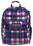 JanSport Big Student Backpack, Pink Pansy Preston Plaid