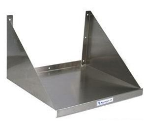 "24"" Stainless Steel Wall Mounted Microwave Shelf"