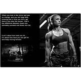 BestWeeks BodyBuilding Women Fitness Motivational Art Photo Poster Poster Gym Picture For Wall Decor 170