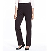 M&S Collection Slim Leg Trousers with StayNEW™