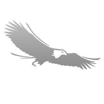 Wild west Eagle... Grey (10 X 5.1 inch) W7X64