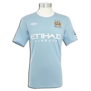09-10 Man City home shirt