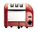 Dualit 3 Slice Combi Toaster Red 31214