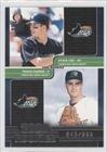 Steve Cox, Travis Harper #843/999 Tampa Bay Rays (Baseball Card) 2000 Pacific Omega [???] #211