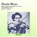 1ベートーヴェン:ヴァイオリン協奏曲2ラヴェル:ツィガーヌ3ブラームス:ヴァイオリン協奏曲4ショーソン:詩曲