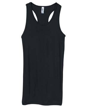 Bella Ladies Slim Fitting Longer Length Super Soft Racerback Tank. 8770Bella Ladies Slim Fitting Longer Length Super Soft Racerback Tank. 8770