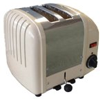 Dualit 2 slice Cream Toaster 20247