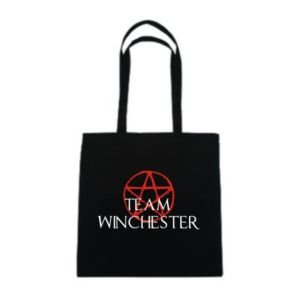 Tumpytees -Supernatural/Cotton Tote Bag... Team Winchester