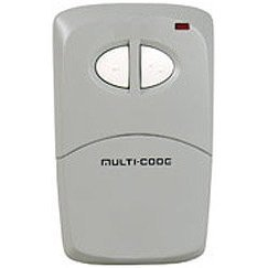 Multicode 4120 300 Mhz 2 Button Remote Control Garage