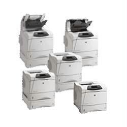 Hp Laserjet 4300N Printer back-918770