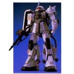 Gundam MS-06R-1 Zaku II Shin Matsunaga Custom MG 1/100 Scale