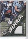 Chris Johnson #35/49 Tennessee Titans (Football Card) 2013 Panini Limited Groundwork Materials #4 front-676182