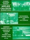 Applied Calculus, Student Solutions Manual: For Business, Social Sciences and Life Sciences, Preliminary Edition (0471111171) by Hughes-Hallett, Deborah