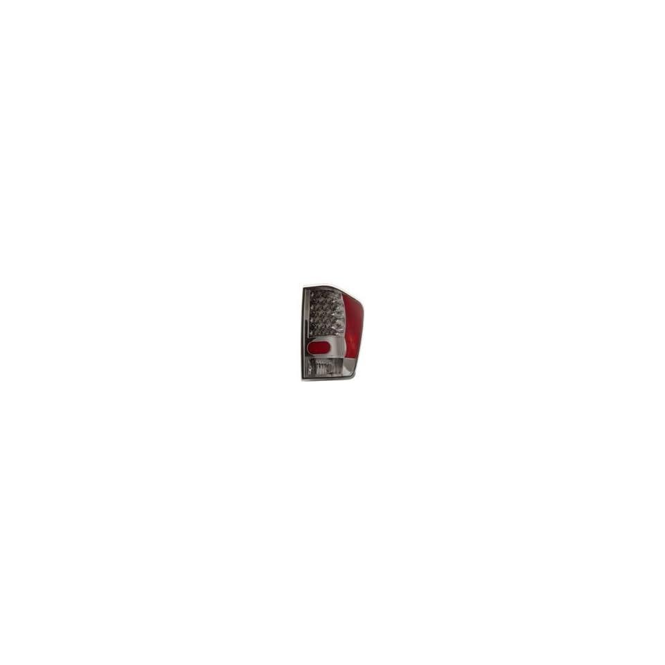 04 07 Nissan Titan Anzo USA LED Tail Light LED Chrome