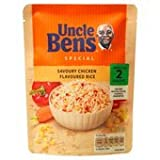 Uncle Ben's Express Savoury Chicken Flavour Rice 250G