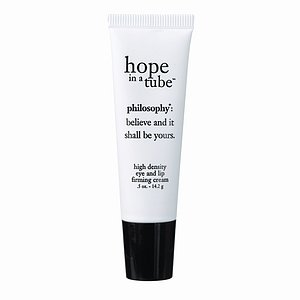 Philosophy Hope In A Tube High Density Eye And Lip Firming Cream .5 Oz Unboxed